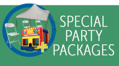 Party Event Rental Packages and Specials