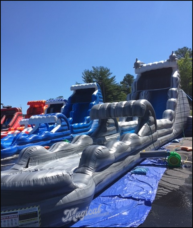 The Dolphin Waterslide & Rapids   Sharper Events & Party Rentals