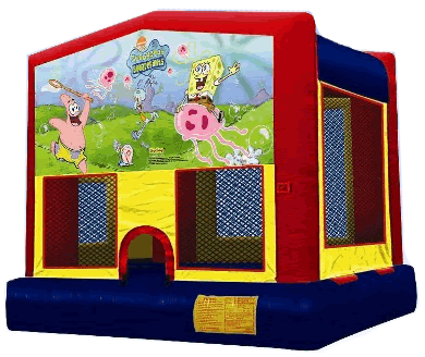 Spongebob Bounce House Sharper Events And Tents