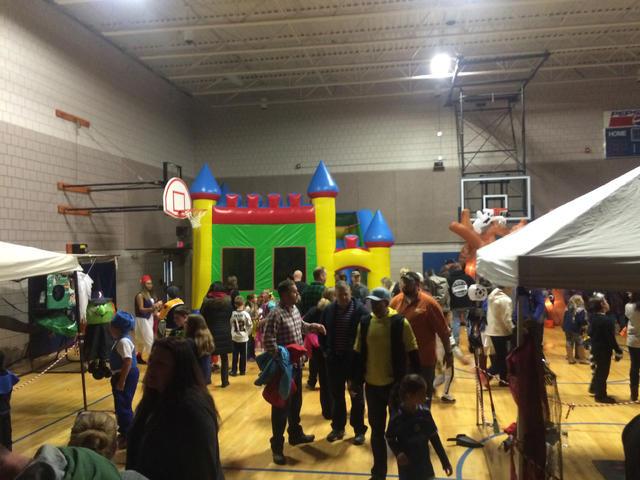 kennebunk recreation halloween party