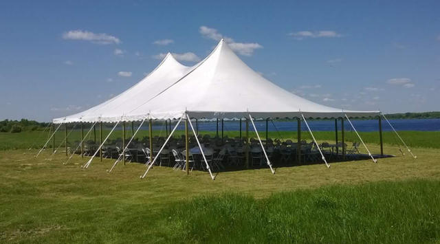 40ft x 80ft x 21ft High Peak Tent