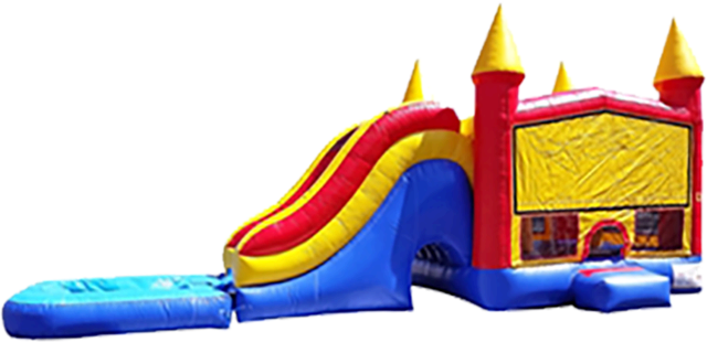 Giant Kingdom Castle Water Slide Combo (Wet)