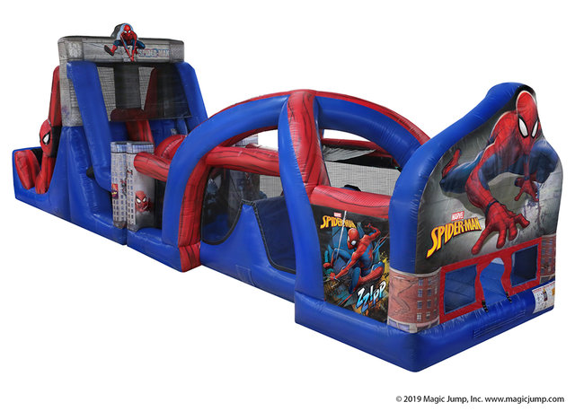 Spider-Man Obstacle Course (Dry)