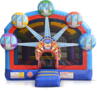 Ferris Wheel Carnival Jumbo Bouncer