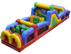 40ft Inflatable Obstacle Course (Double Lane)