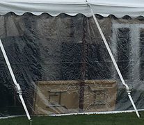 Clear Commercial Tent Sidewalls