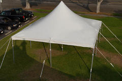 20ft x 20ft High Peak Wedding Tension Tent