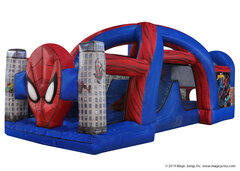 25ft SpiderMan Bounce Obstacle (Dry)