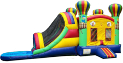Balloon Adventure Combo Bounce Double Waterslide (Wet)
