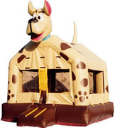 Spottsy the Bouncin Dog Bounce House