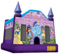Disney Princess Bounce House (Dry)