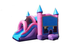 Princess Mega Bounce & Slide Palace Castle (Dry)
