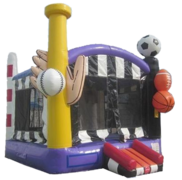 Sports Arena Bounce House (Dry)