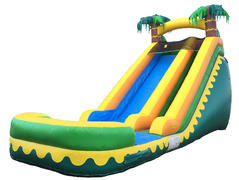 18ft Tropical Breeze Waterslide (Wet)