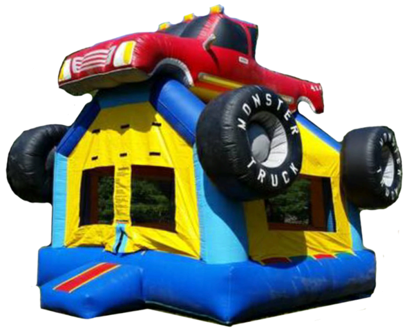 Mega Monster Truck Moon Bounce