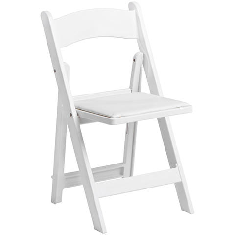 White Wood Garden Chair