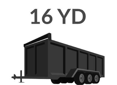16 yard dumpster rental