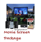 Movie Screen Packages