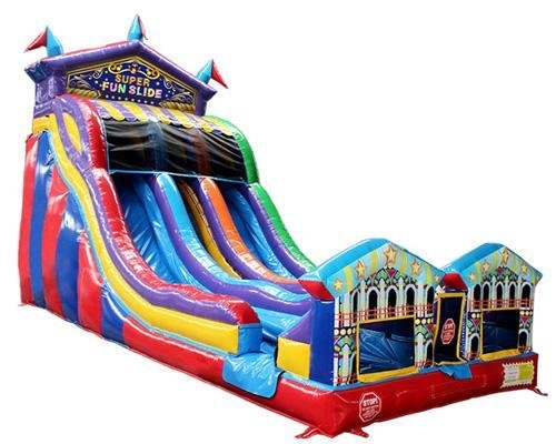 Carnival Double Lane Super Water Slide