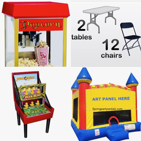 Castle Bouncer Party Package