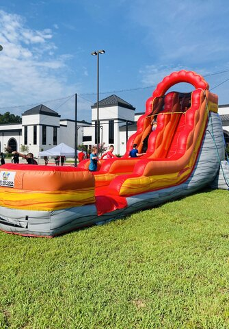 Lava Rush Water Slide