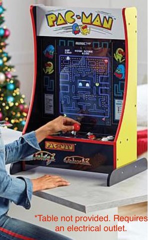 Pac-Man, Galaga, and Galaxian Table Top Arcade Game