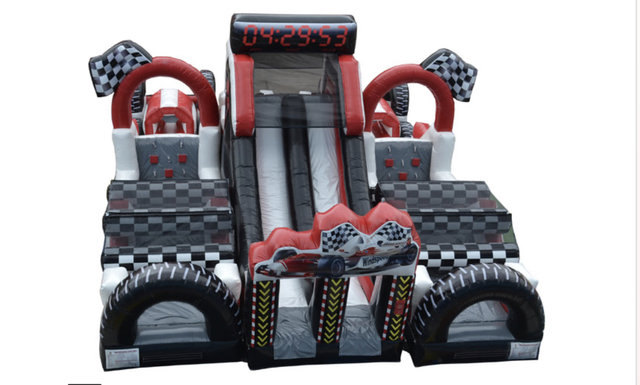 Raceway Dual Lane Obstacle Course