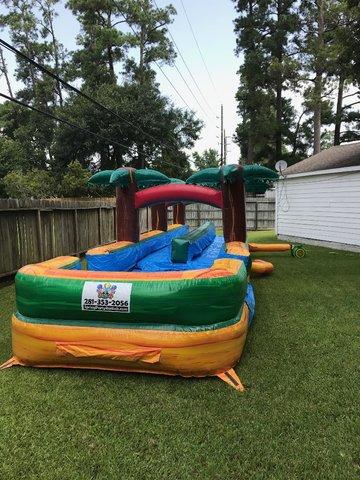 Aloha Dual Lane Slip N Slide Bounce House Amp Party Rentals