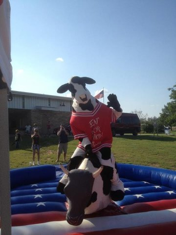 Rocky The Mechanical Bull Bounce House Amp Party Rentals