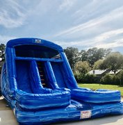 Blue Crush Dual Lane Water Slide