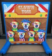 Clown Toss Air Frame Game