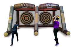 Double Axe Throwing Game