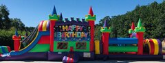 Happy Birthday 50ft Obstacle Course