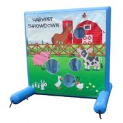 Harvest Throwdown Air Frame Game