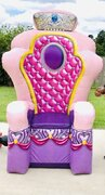 Pink Inflatable Throne