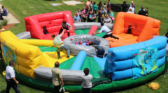 Hungry Hungry Hippo Inflatable Game
