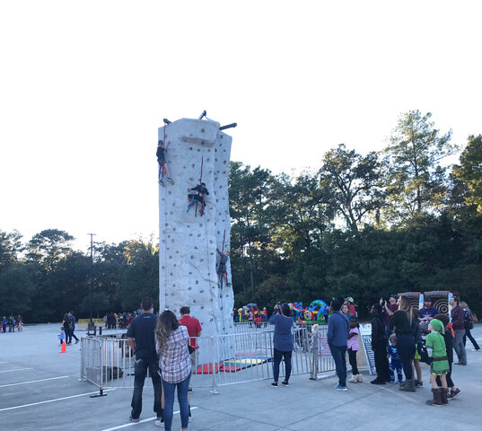 4 Person Rock Climbing Wall
