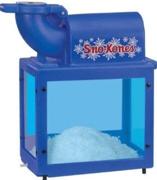 Sno Cone Machine w/ 2 one liter bottles of syrup and 50 cups