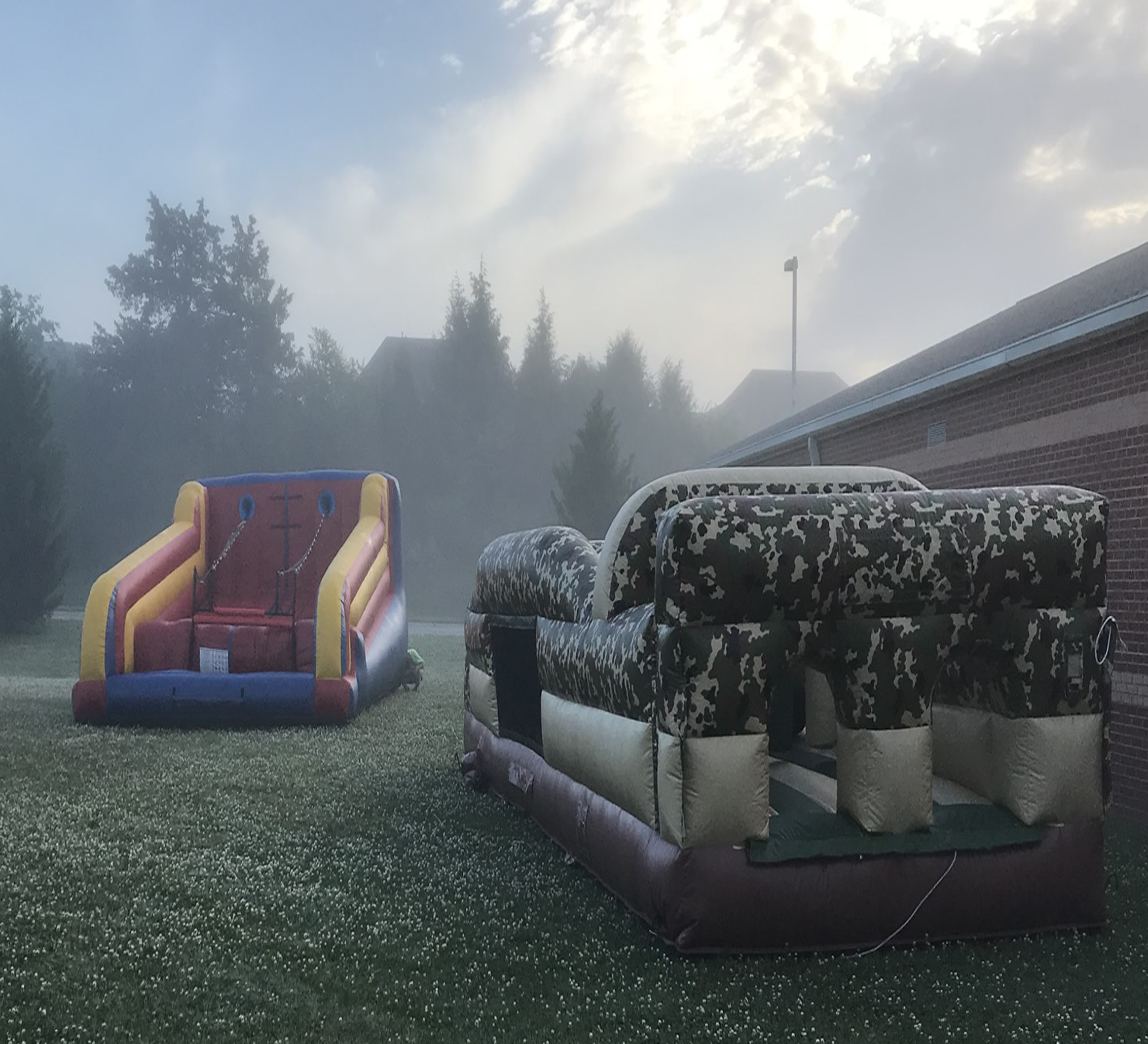 inflatable obstacle course rental near me