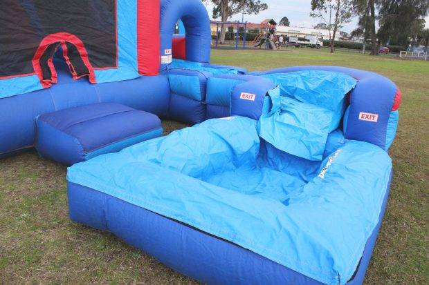 inflatable wet combo rental