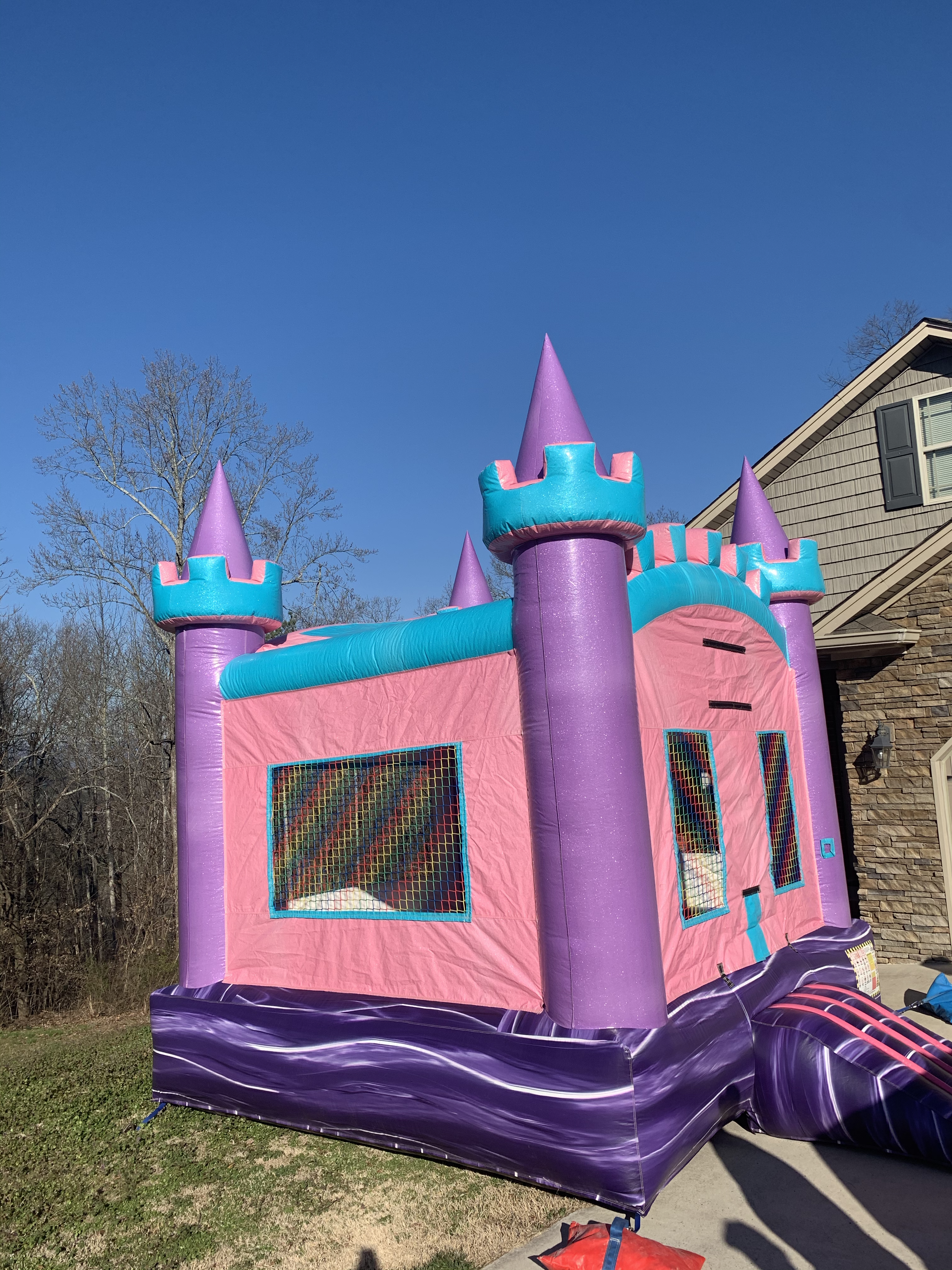 Glitter Bounce House Rental