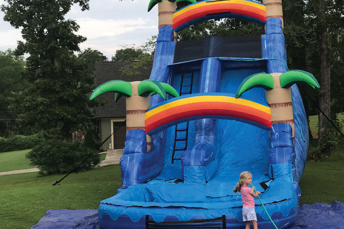 Hixson_TN_water_slide_rental