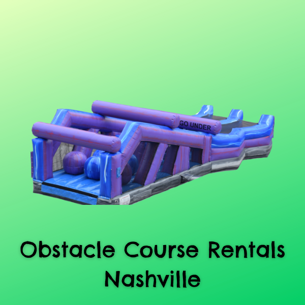 Cheap Obstacle Course Rentals Nashville TN