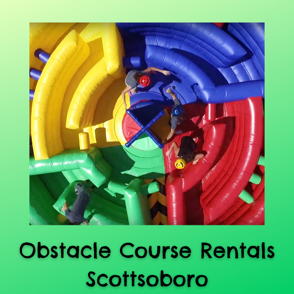 Cheap Obstacle Course Rentals Scottsboro AL