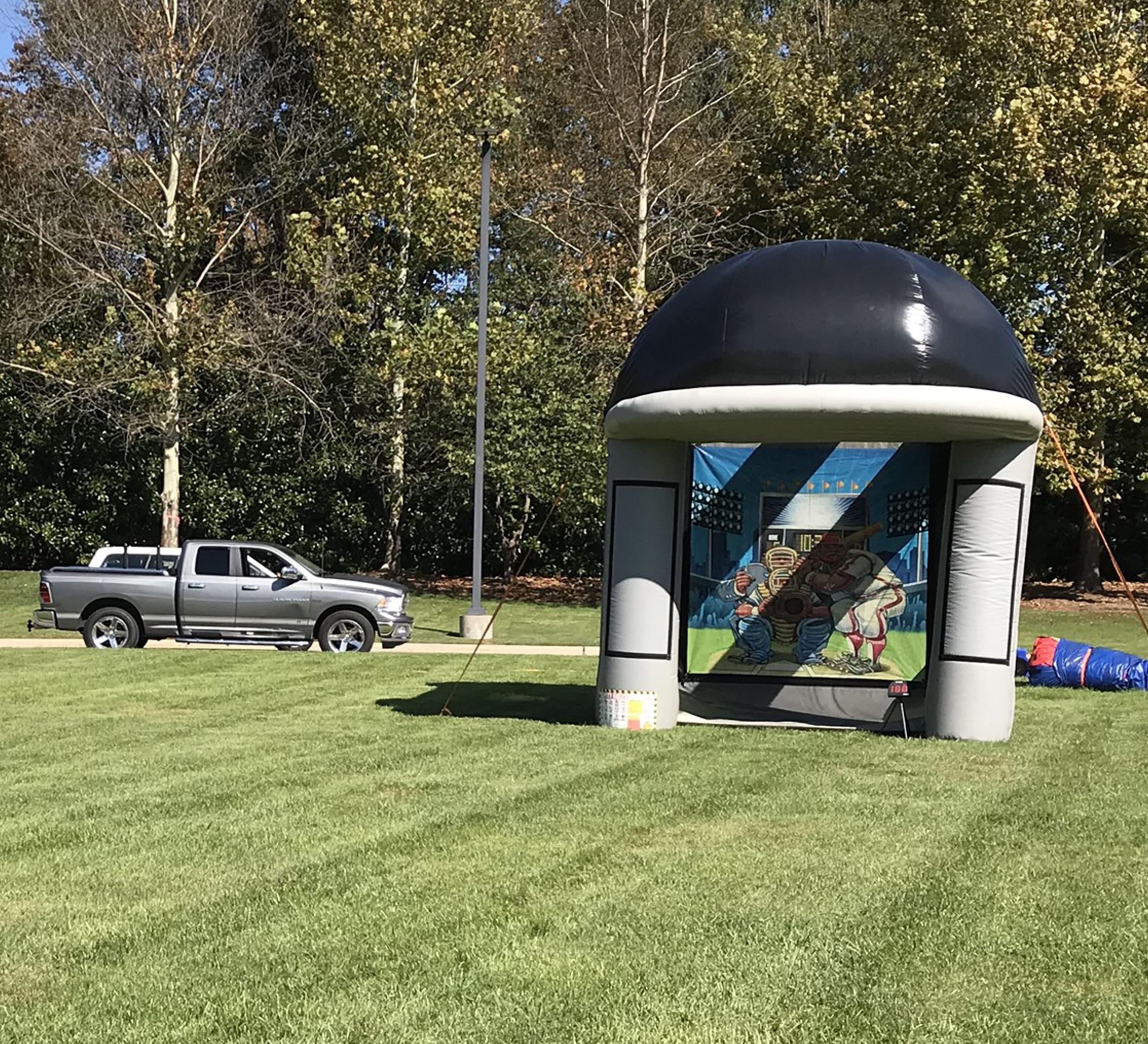 inflatable baseball game rental chattanooga