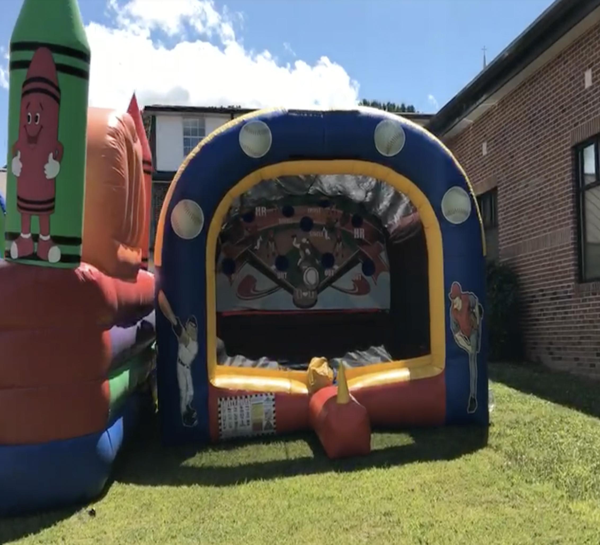rising star baseball inflatable rental chattanooga
