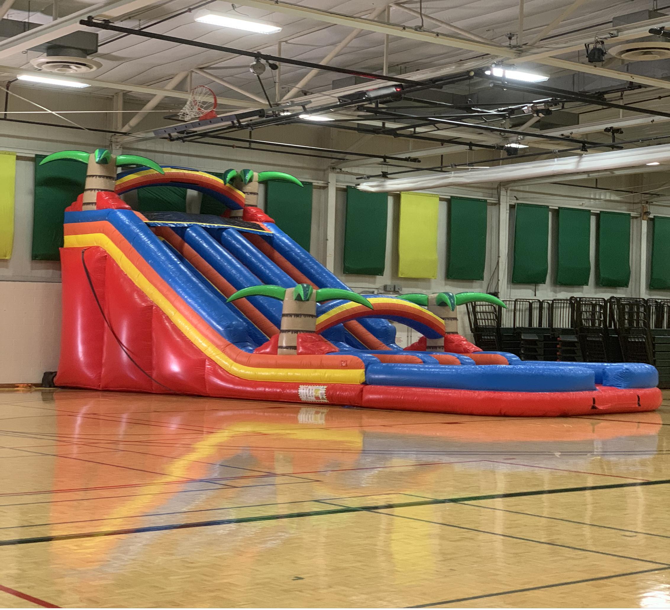 dual lane inflatable slide rental chattanooga