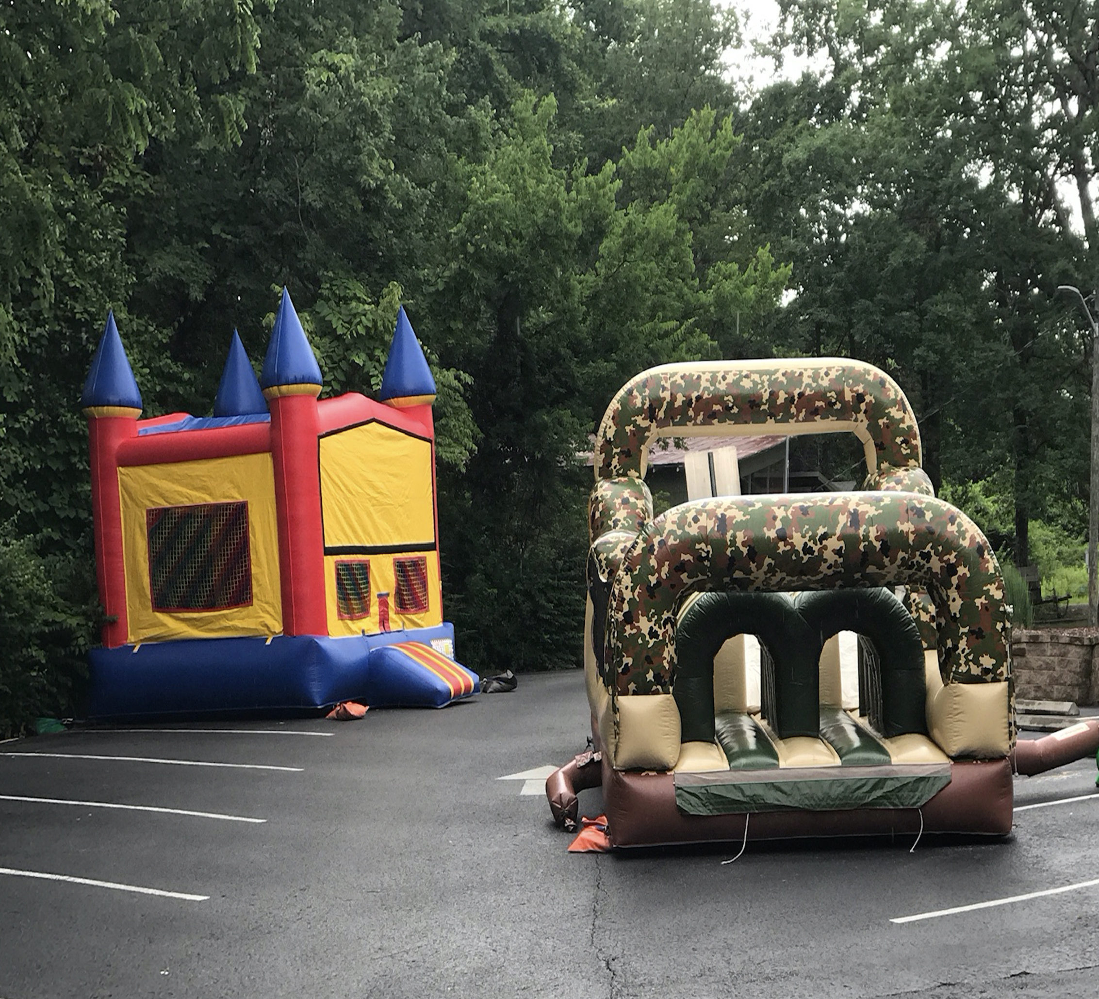 obstacle course rental chattanooga
