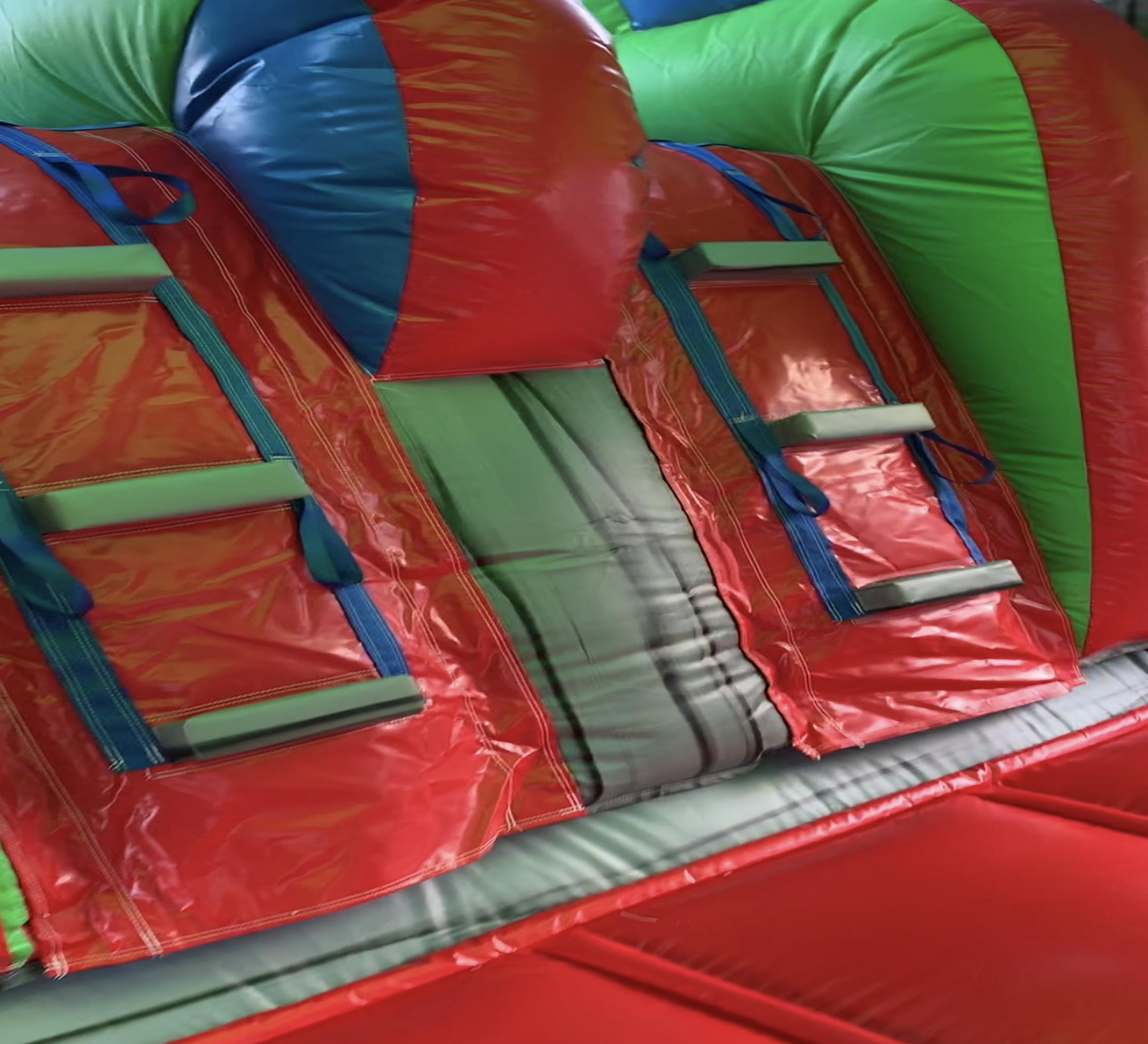 dual lane combo inflatable rental