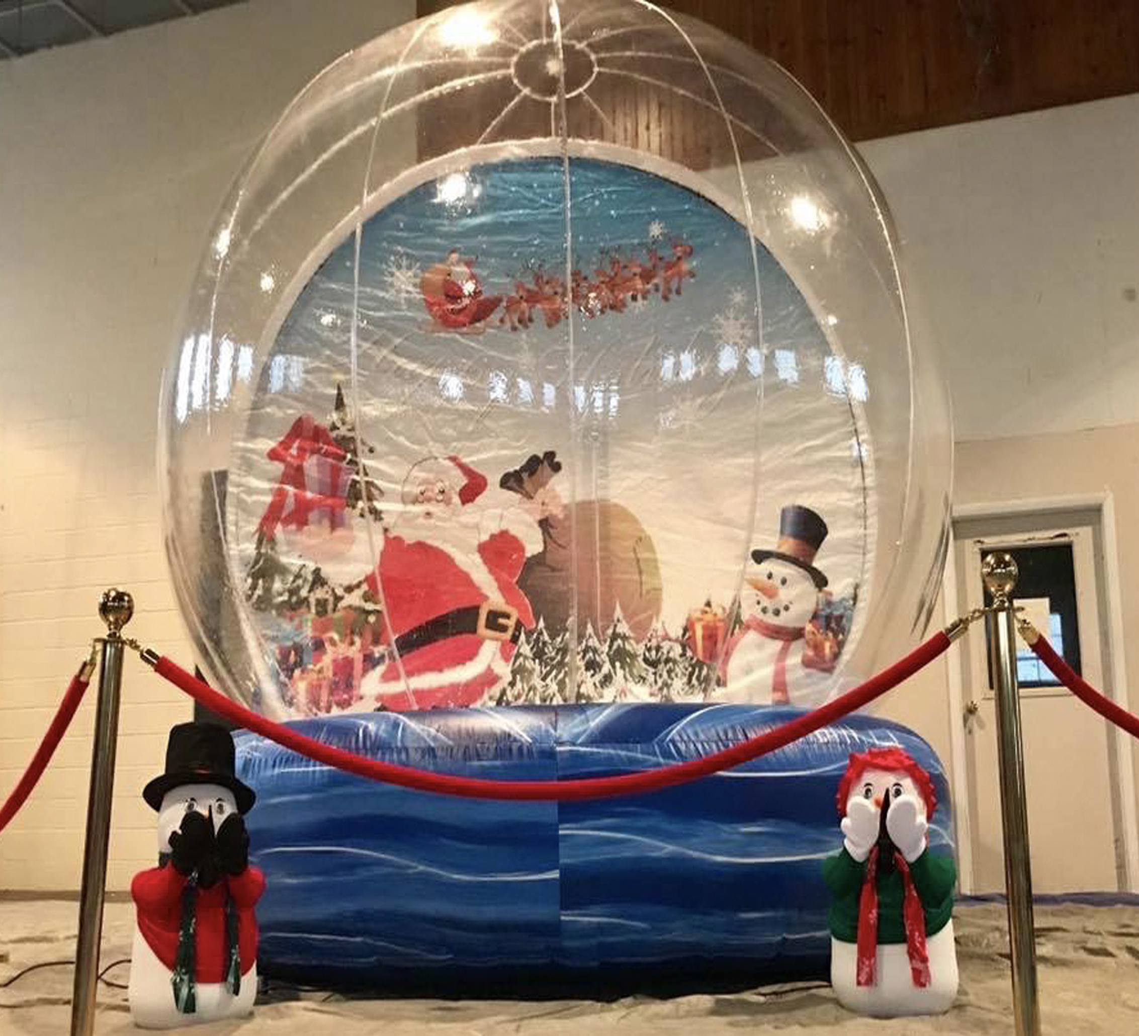 christmas snow globe rental